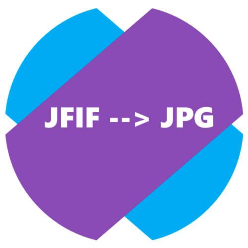 Почему изображения из браузера сохраняются в JFIF, а не в JPG